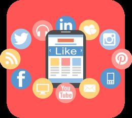 Social media e content